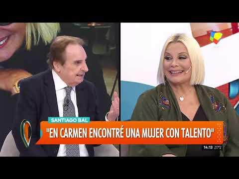 Carmen Barbieri y Santiago Bal en una emocionante entrevista