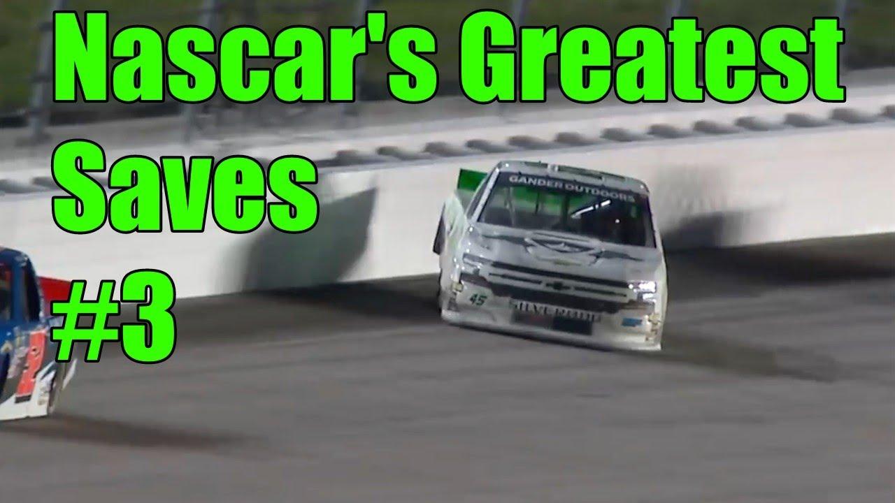 Nascar's Greatest Saves #3