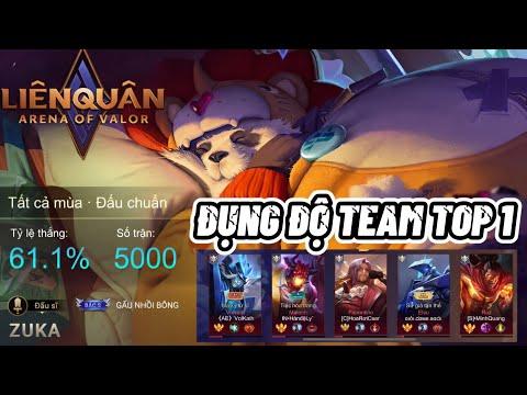 Trận Đấu Zuka Thứ 5000 Của ZukaNoPro Đối Đầu Với TEAM TOP 1 BXH Tướng : Đẳng Cấp Top 1 Zuka Việt Nam