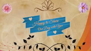 Contoh undangan pernikahan online lewat WA (wedding Invitation) 2018