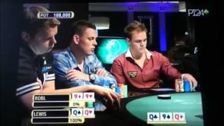La mano più incredibile di poker ( QQ vs 99- QUADS vs QUADS )