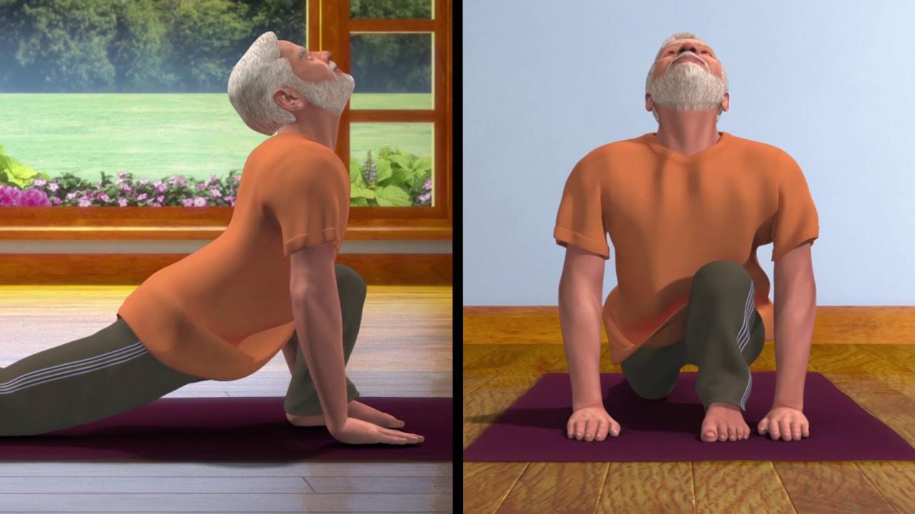 Yoga With Modi Surya Namaskar Kannada Youtube