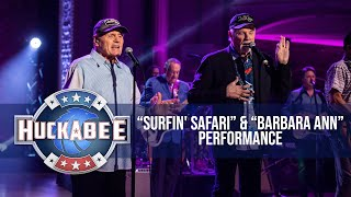 "NOSTALGIA TRIP: The Beach Boys Perform ""Surfin' Safari"" and ""Barbara Ann"" 