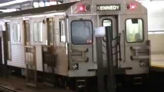 Toronto Subway T-1 Heading Westbound At Victoria Park