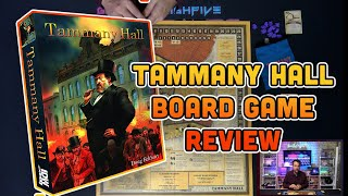 Tammany Hall Review & How to Play | Negotiation, Area Control, and Corruption on your table!