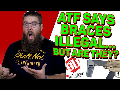 DID ATF SAY WE'RE ALL FELONS? Pistol Braces ATTACKED… AGAIN - The Fight For Gun Rights!