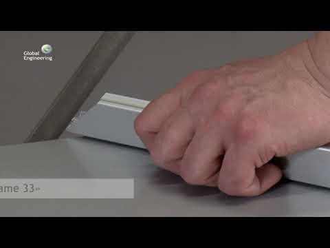 014 ClicFrame 33 (обучающее видео: как собрать несветовую рамку с клик-профилем)