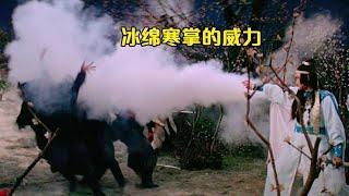 38年前的武侠片《浣花洗剑》,侠客学了冰绵寒掌、神鹰夺剑,武功已经无人能敌【香港老片迷】