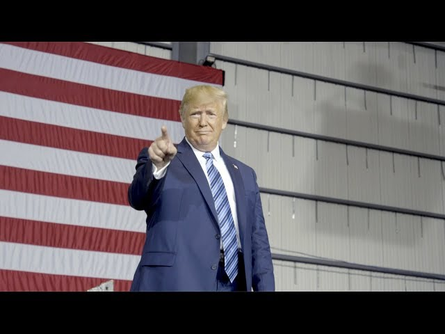 President Trump Tours Shell's New Pennsylvania Petrochemicals Complex