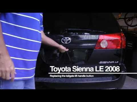 How to replace the rear door lock actuator on a 2007 to doovi for 2002 toyota sequoia rear window not working