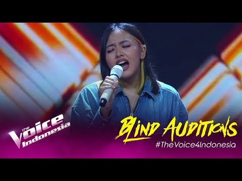 Naja - Gravity | Blind Auditions | The Voice Indonesia GTV 2019