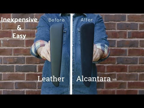 DIY Alcantara Armrests | Cheap & Easy