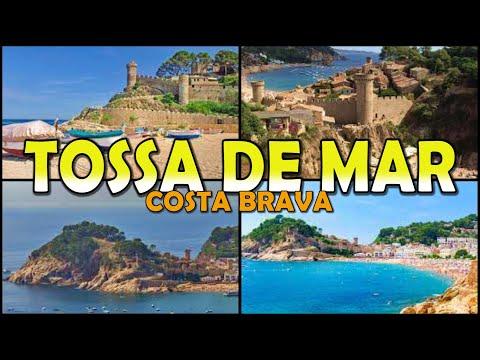 TOSSA DE MAR - Costa Brava - Catalonia -Spain (4K)