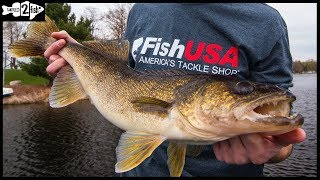 Find Spring Walleyes by Watching Water Temperature