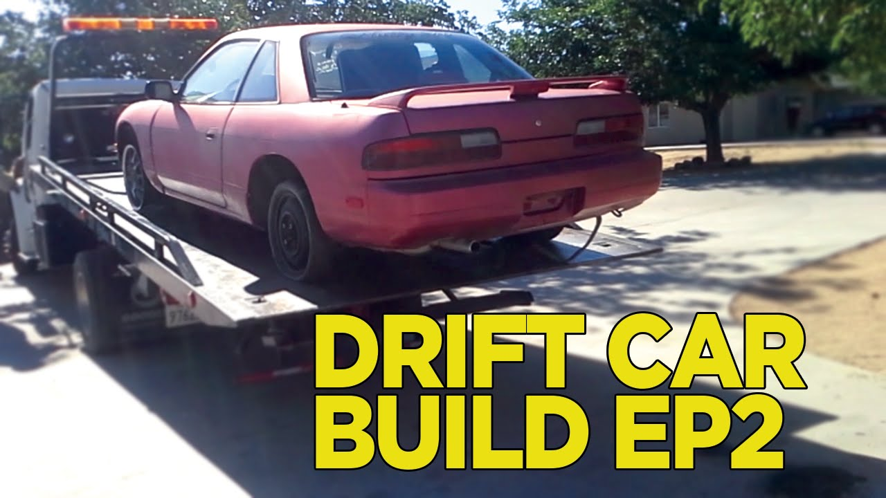 Junkyard To Drift Car Build ep.2 (Delivery & Cleaning) - YouTube