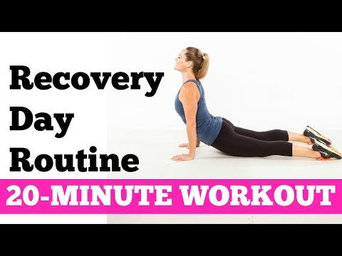 How to relieve DOMS, Muscle Stiffness, Soreness | 20-Minute Recovery Day Routine