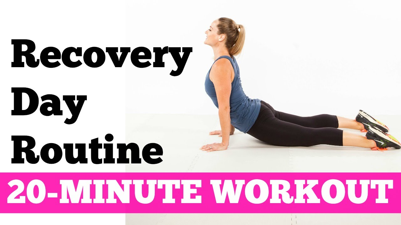 pictures Yoga Workout: Recovery Stretches for Beginners