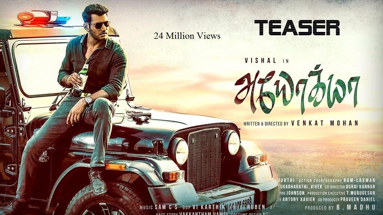 ayogya tamil movie માટે છબી પરિણામ
