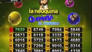 SORTEO DE QUINIELA EL PRIMERO Nº 22528 - 20-07-19 - LOTERIA LA NEUQUINA