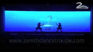 Interactive,ventuz,AV ,stereolise  Performance for Zee Business Awards 2013