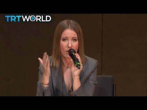 Russian Election: TV Presenter Ksenia Sobchak announces candidacy for president