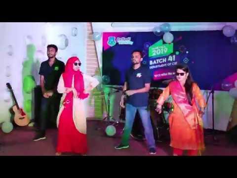 Rag Day Dance Performance || DIU CSE 41st Batch || Bol Na Halke Halke || Dhakar Pola || Beyainshab