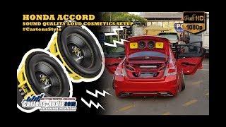 Audio Mobil Keren Jakarta HONDA ACCORD Sound Quality Loud | Ground Zero