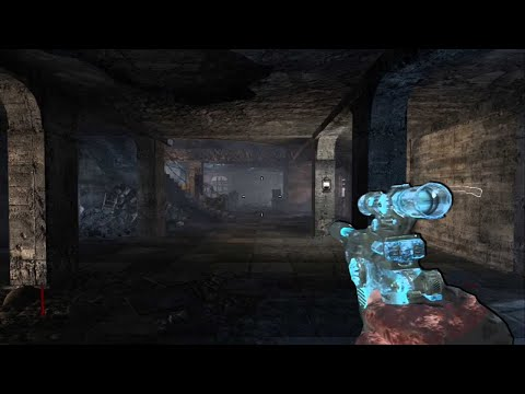UPGRADED NACHT DER UNTOTEN - Call of Duty Zombies Re-Skinned Map!