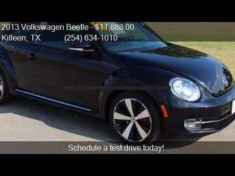 2013 Volkswagen Beetle 2.0T Turbo for sale in Killeen, TX 76