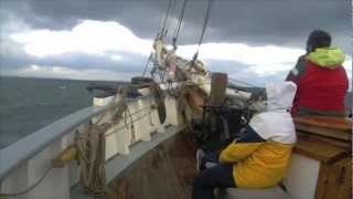Bessie Ellen - Bringing her home to Cornwall from The Azores 2012