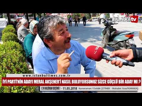 İYİ PARTİ'NİN ADAYI MERAL...