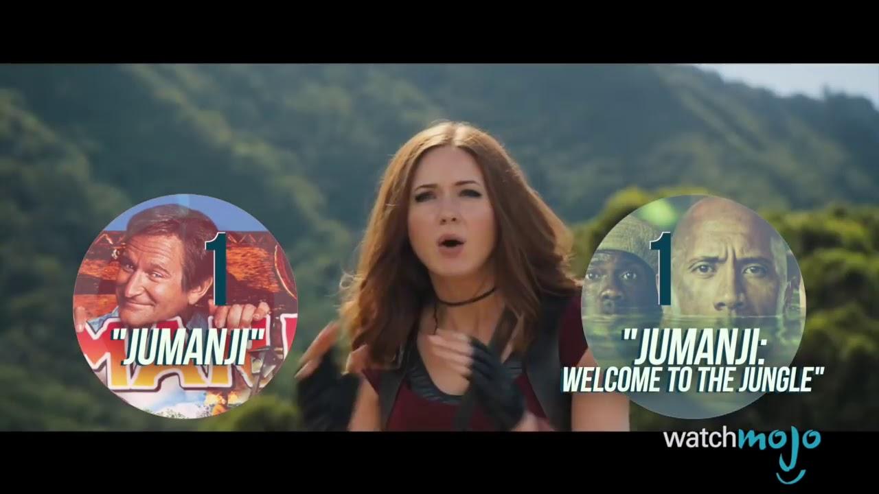 Download Jumanji! 1995 Vs 2017