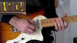 Lezioni di Chitarra per Principianti: Slash Guitar Style (lick e schema per improvvisare)