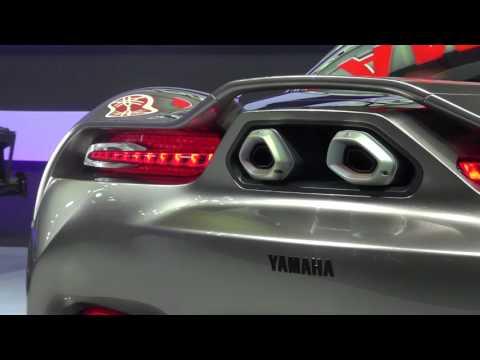 Concept xe hơi thể thao 2 chỗ ngồi của Yamaha