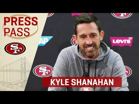 Kyle Shanahan 'Yesterday Was Nick Mullens' Best Game' | San Francisco 49ers