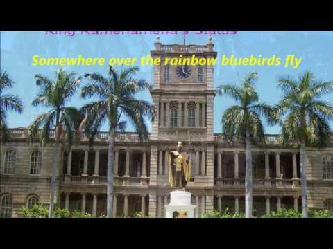 Hawaii A1 Some Where Over  the Rainbow -Israel Kamakawiwo