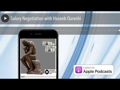 Salary Negotiation with Haseeb Qureshi