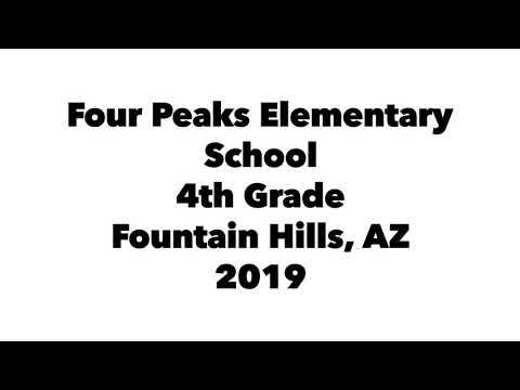 Dolly the Pitbull at Four Peaks Elementary School, Fountain Hills, AZ