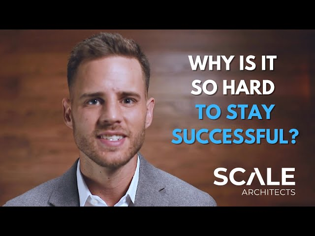 Why is it so hard to stay successful?