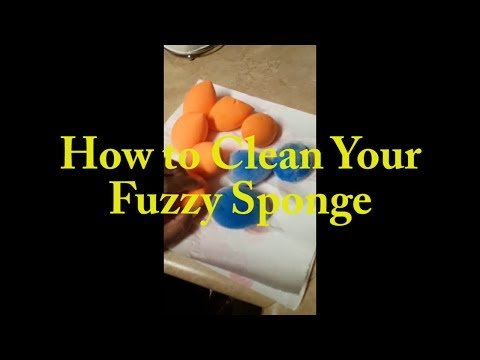 How to Clean Your Fuzzy Sponge | Juno & Co | ShaneillH Beauty