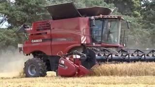 big combine harvester case ih axial 9240