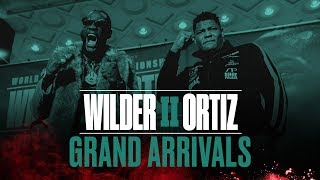 Wilder vs Ortiz II - Fighter Arrivals