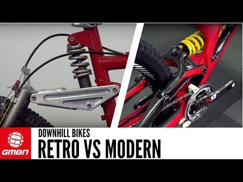Retro VS Modern Downhill Bikes