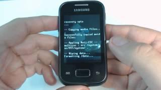 Samsung Galaxy Pocket S5300 hard reset