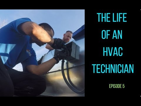 The Life of an HVAC Technician - Episode 5 - Installing a Package Unit on a Rooftop