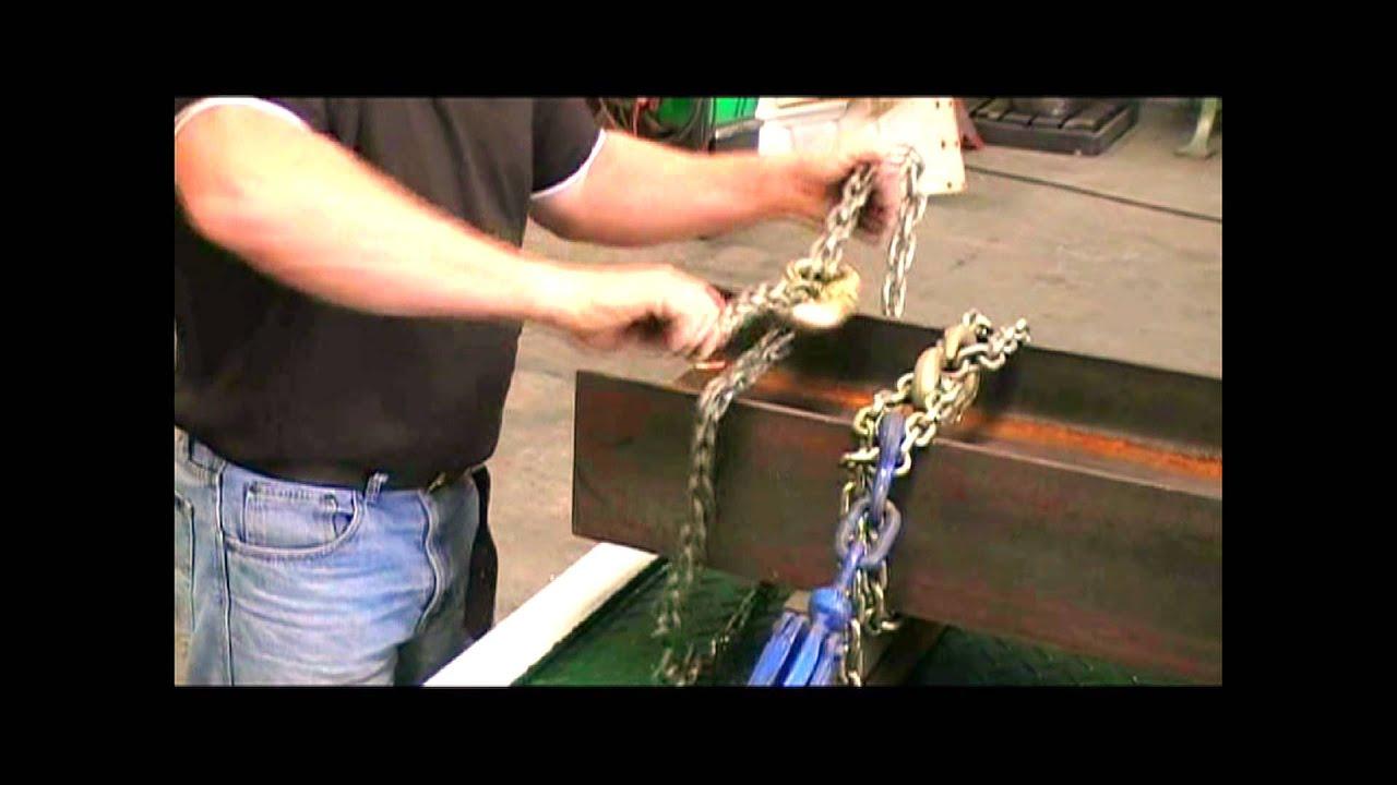 Load Choker - Chain Choker Application