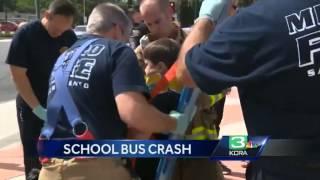 Dozens of children injured in Citrus Heights school bus crash