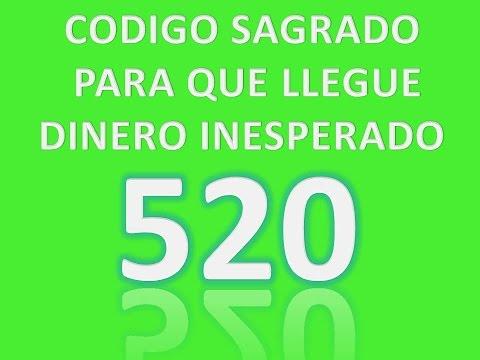 CODIGO SAGRADO 520 PARA DINERO
