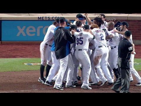Mets walk off on Pagan's 10th-inning homer