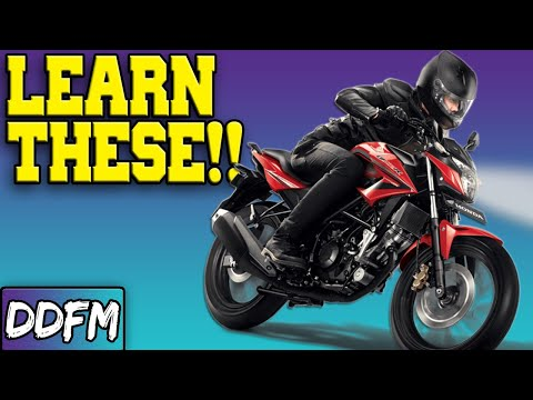 Tips For Your First Few Months Of Riding A Motorcycle